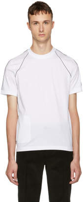 Prada White Outline T-Shirt