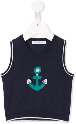 Familiar anchor vest top