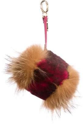 Fendi Fox Fur Bag Charm