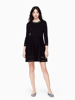 Kate Spade Fit and flare sweater dress