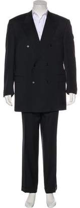 Canali Double-Breasted Wool Suit