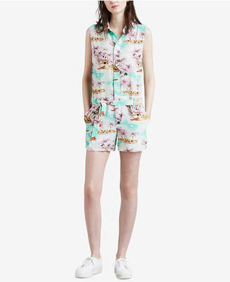 Levi's Molly Printed Sleeveless Romper