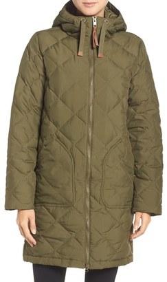 Women's Burton Bixby Long Down Jacket $284.95 thestylecure.com