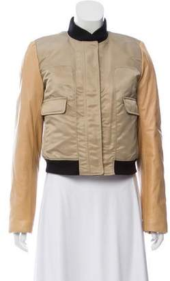 Tory Burch Colorblock Zip-Up Jacket