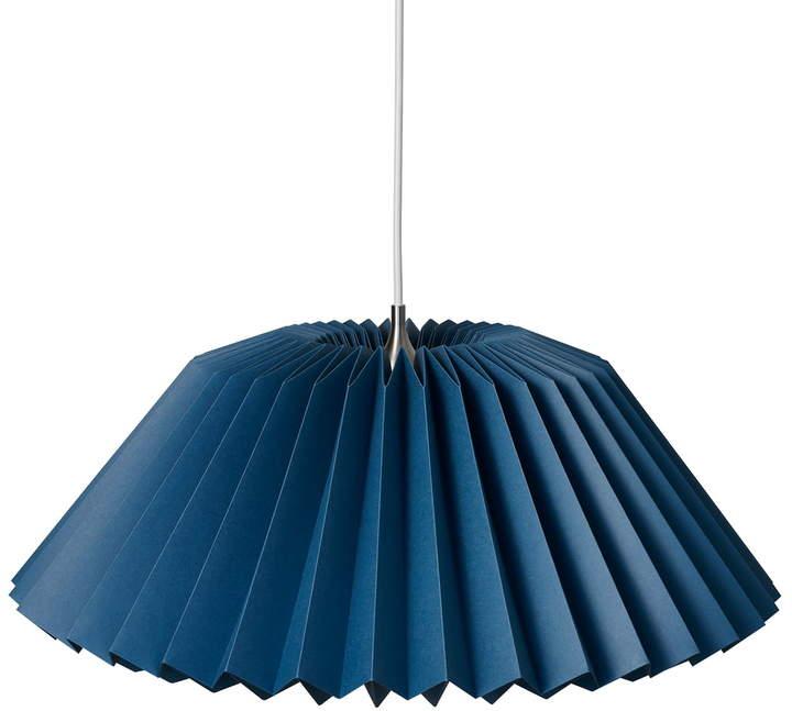Pleats 116 Megatwo Pendelleuchte L, indigo blue