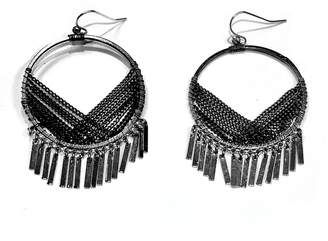 Nakamol Metal Tassel Earrings