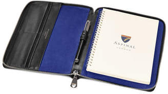 Aspinal of London A5 Zipped Padfolio