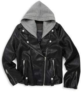 Blank NYC Girl's Faux Leather Jacket