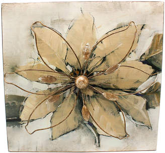 Highst. Contemporary Metal Flower Hanging Wall Art