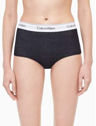 Calvin Klein modern cotton denim high waist hipster