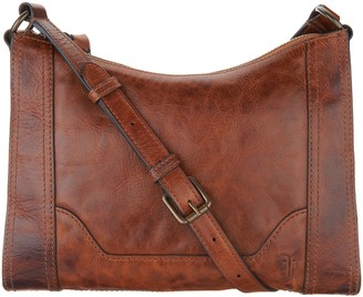 Frye Leather Melissa Zip Crossbody