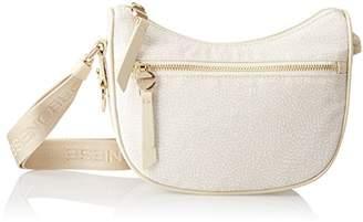 Borbonese Luna Petite C/tasca, Women's Cross-Body Bag,20x16x8 cm (W x H x L)