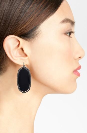 Women's Kendra Scott 'Danielle - Large' Oval Statement Earrings 2