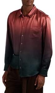 Sies Marjan Men's Dégradé Washed Satin Shirt