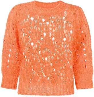 Etoile Isabel Marant Sinead distressed jumper