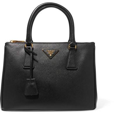 pradaPrada - Galleria Medium Textured-leather Tote - Black