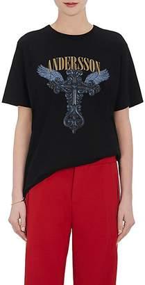 Andersson Bell Women's Graphic Cotton Unisex T-Shirt - Black
