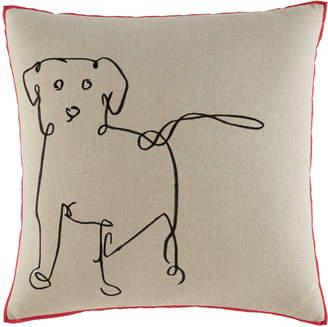 ED Ellen Degeneres Dog Accent Pillow
