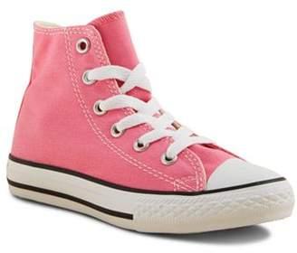 Converse Girls' Chuck Taylor All Star High Top Sneakers - Toddler, Little Kid
