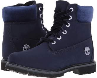 Timberland 6 Premium Leather and Fabric Waterproof Boot Women's Waterproof Boots