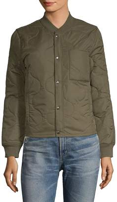 Mother Women's The Quilted Bomber Jacket
