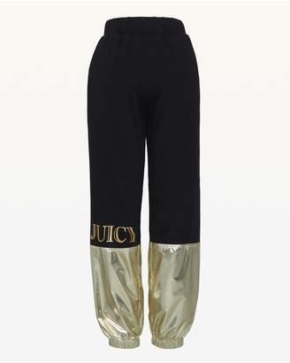 Juicy Couture JXJC Juicy Metallic Colorblock Pant