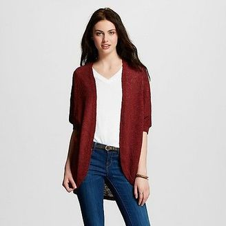 Women's Solid Hacci Cocoon Cardigan - Mossimo Supply Co. $22.99 thestylecure.com