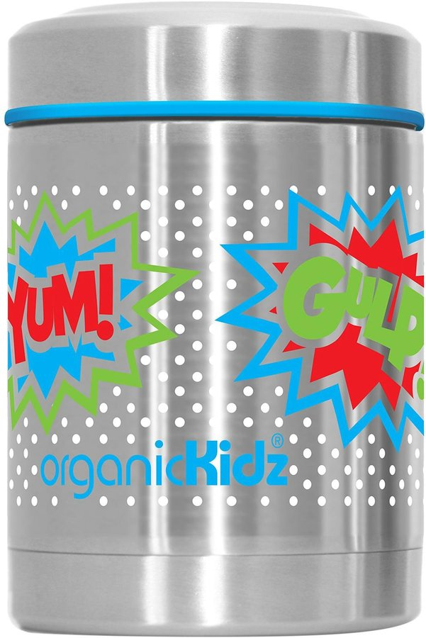 organicKidz Stainless Steel Thermal Food Container - Bam - 12 oz