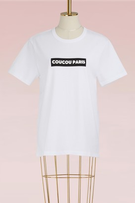Ami Cotton Coucou Paris T-shirt