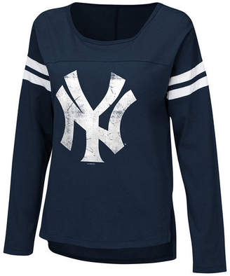 New York Yankees Touch by Alyssa Milano Women Free Agent Long Sleeve T-Shirt