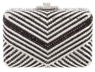 Judith Leiber Embellished Box Clutch