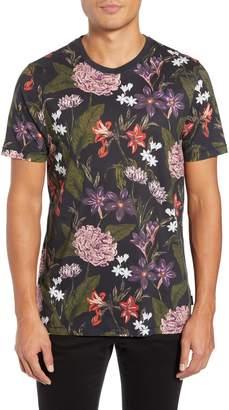Ted Baker Glee Slim Fit Print T-Shirt