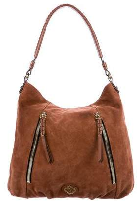 Oryany Embellished Suede Tote