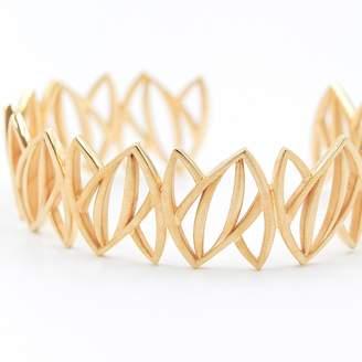 Machado Anna Jewelry Design - Gold Leaves Cuff