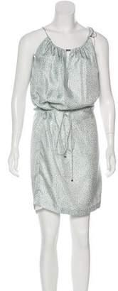 Malo Silk Printed Dress w/ Tags