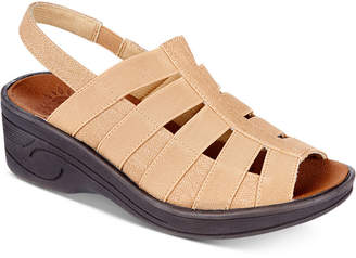 Easy Street Shoes Floaty Wedge Sandals Women Shoes