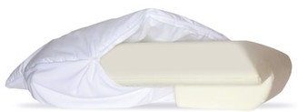 Better Sleep Pillow Padded Fiber Gel Cover for the Original Better Sleep Pillow Version, 5.5 Inch Thick Foam Hypoallergenic Tailored Fit Soft Easy to Care for Cotton Pillow Cover, White