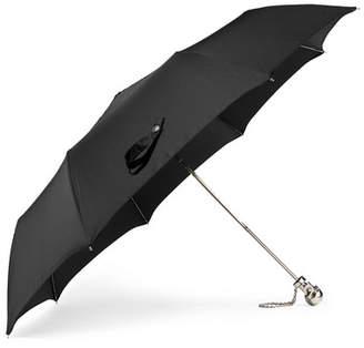 Alexander McQueen Embellished Shell Umbrella - Black