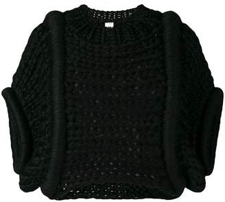 Comme des Garcons chunky knit top