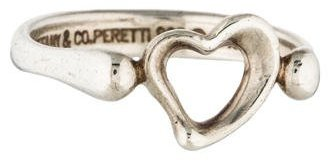 Tiffany & Co. Open Heart Ring $95 thestylecure.com