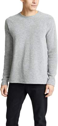 Wings + Horns Felted Wool Crewneck Shirt