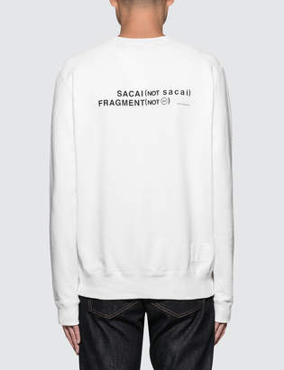 Sacai X Fragment Design Sweatshirt