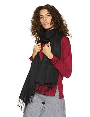 Off-White Wild Oasis Premium Collection Cashmere and Silk Blended Large Pashmina Shawl Wrap Foulard Scarf