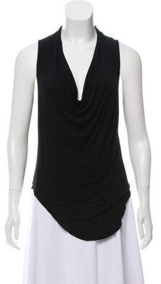 Helmut Lang Sleeveless Jersey Top