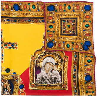 Versace Tribute Madonna scarf