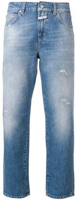Closed cropped boyfriend jeans