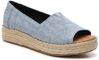Toms Alpargata Espadrille Wedge Slip-On - Women's