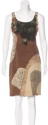 Akris Silk Photographic Print Dress
