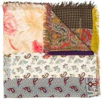 Pierre Louis Mascia Pierre-Louis Mascia mixed print scarf
