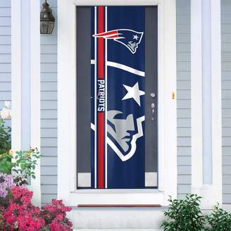 New EnglandPatriots Two-Sided Door Wrap